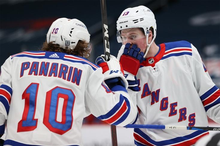 «Вашингтон» — «Рейнджерс» — 1:4, видео, голы, обзор матча регулярного чемпионата НХЛ 2021