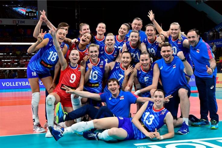 Италия – Россия, волейбол, 13 июня 2019 года