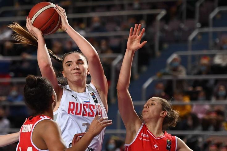 Капитан сборной России Мария Вадеева