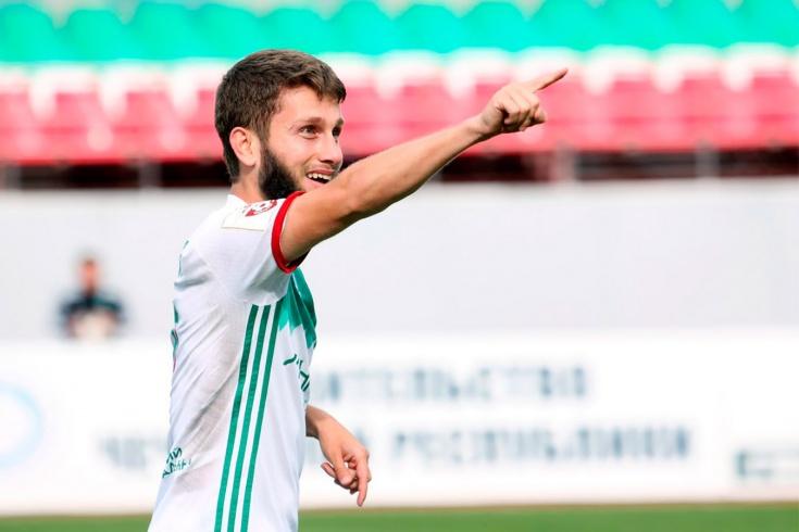 Племянник Кадырова отметился голом со штрафного в