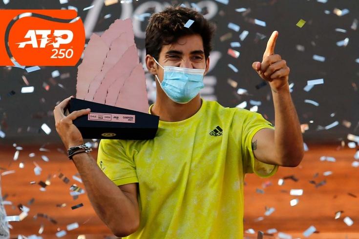 Турнир ATP-250 в Сантьяго: Кристьян Гарин стал первым чилийским чемпионом за 12 лет, видео