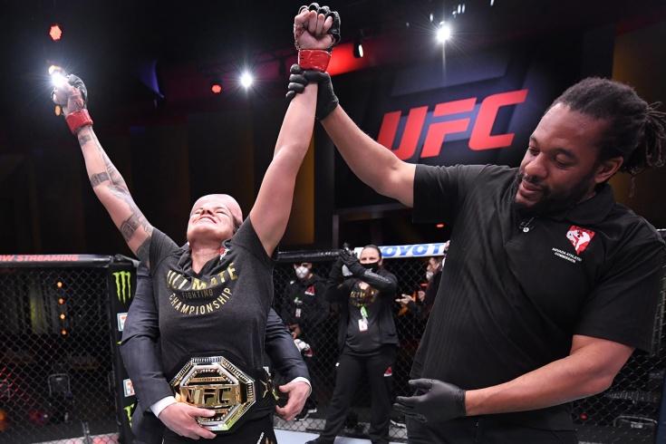 UFC 250: видеополногобояАманда Нуньес — Фелиция Спенсер