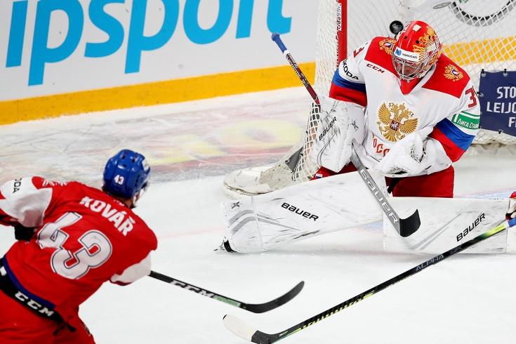 Чехия — Россия — 3:0