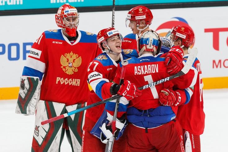 Россия – Чехия – 3:0