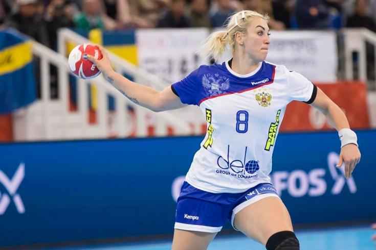 Женская сборная России проиграла в полуфинале чемп