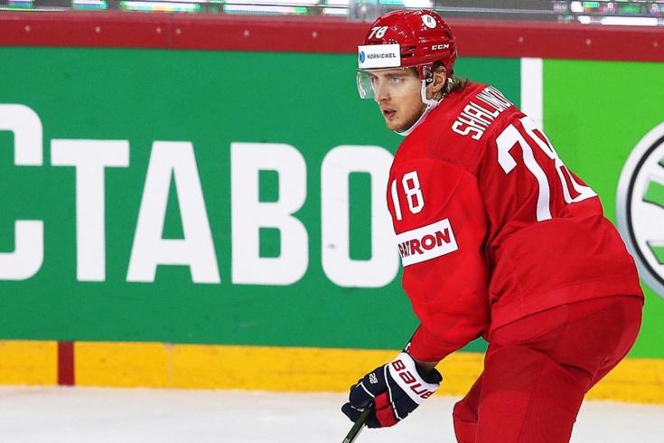 Нападающий сборной России Максим Шалунов не реализовал голевой момент на ЧМ, видео