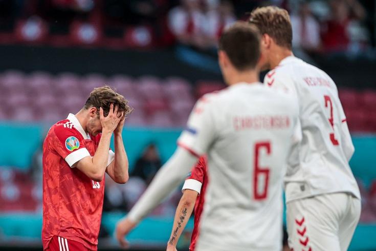 Россия – Дания – 1:4
