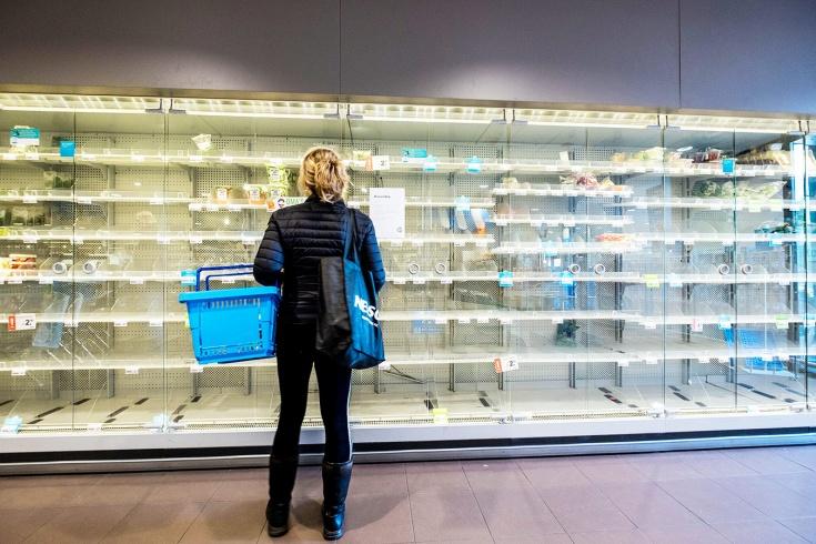 Какие продукты скупают из-за коронавируса?