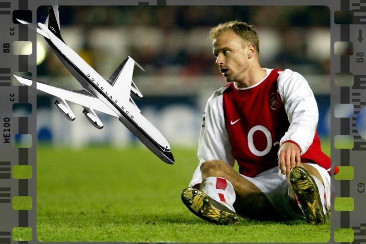 Почему Деннис Бергкамп боялся летать: нападающий «Арсенала» избегал самолетов