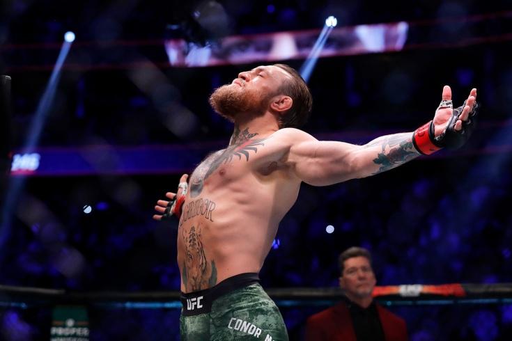 Жёсткие нокауты в MMA, Конор Макгрегор опубликовал видео с самым нокаутом в своей карьере