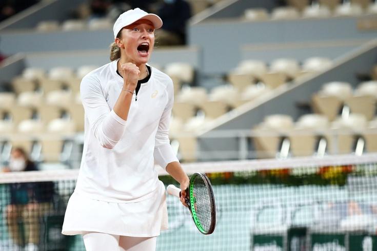 Сенсация «Ролан Гаррос» – 2020. Халеп проиграла юной польской теннисистке Свёнтек