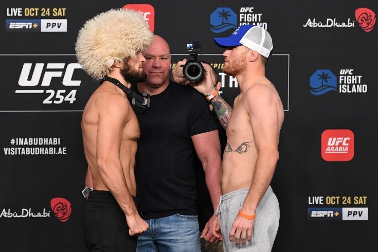 UFC 254, Хабиб – Гэтжи: онлайн-трансляция