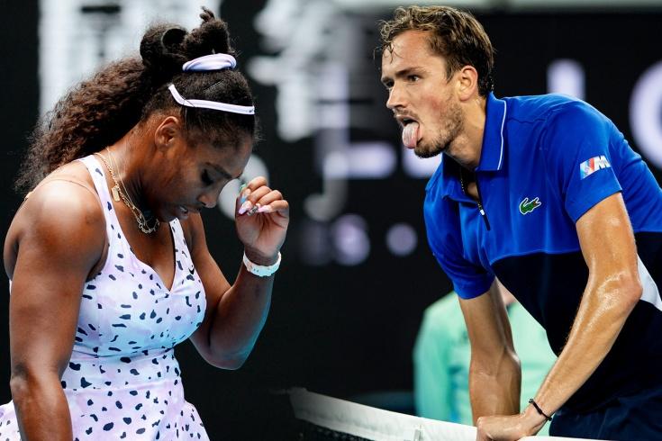 Даниил Медведев и Серена Уильямс провалили подготовку к US Open. Чего им не хватило?