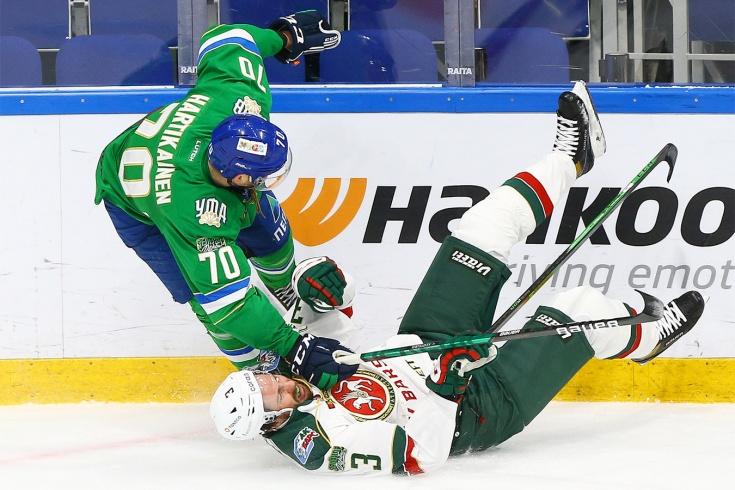 Разбор спорных эпизодов в матче «Салават Юлаев» — «Ак Барс»