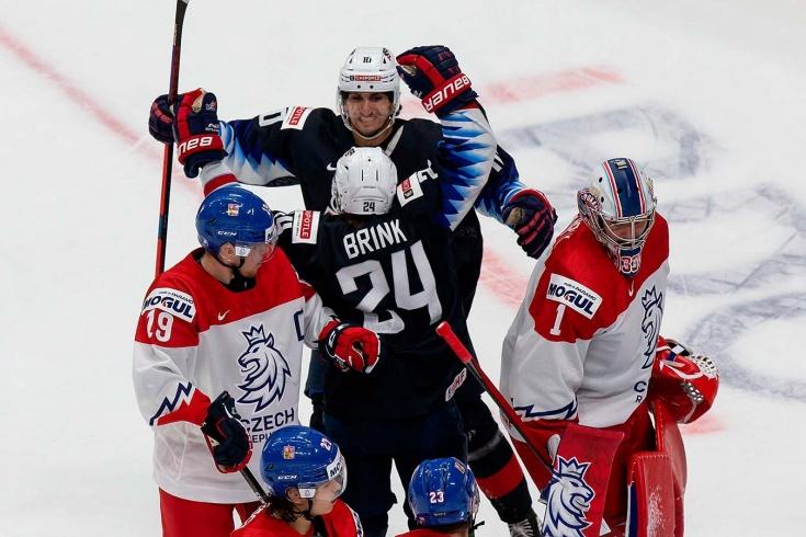США — Чехия – 7:0 – видео, голы, обзор матча молодёжного чемпионата мира по хоккею 2021