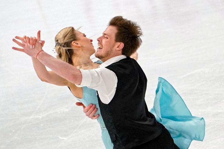 Чемпионат мира по фигурному катанию — 2021: Синицина и Кацалапов уверенно победили в ритм-танце