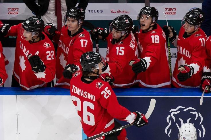 Канадцы доминируют и идут без поражений. Они забили 33 гола за четыре матча!