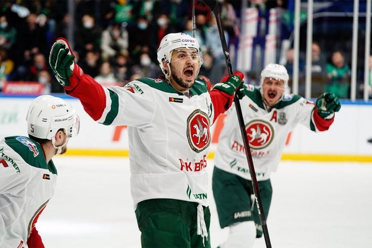 «Салават Юлаев» – «Ак Барс» – 1:2, второй раунд плей-офф КХЛ, сезон-2020/2021, отчёт и видео