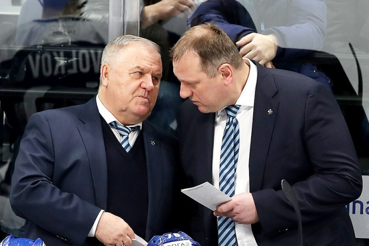 Владимир Крикунов и Владимир Воробьёв