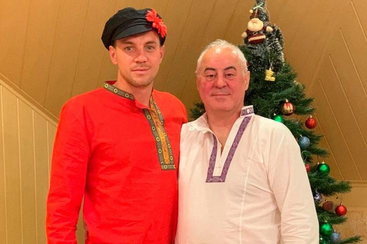 Артём Дзюба: вечеринка в русском народном стиле