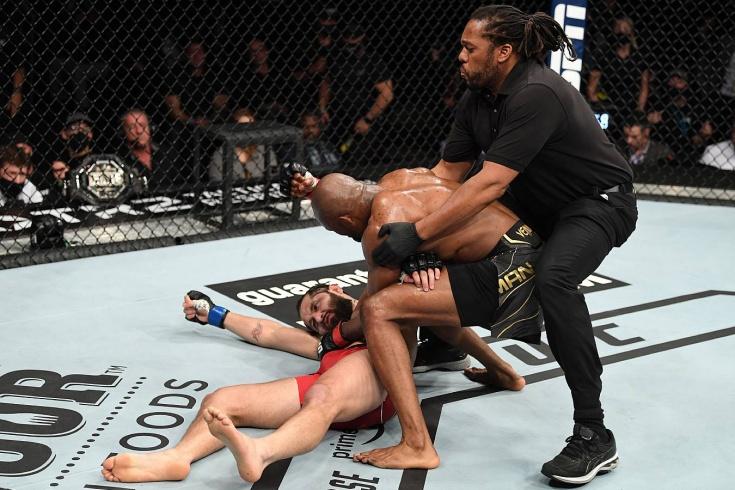 Усман отправил Масвидаля в глубокий нокаут. Чемпиону больше некого бить?