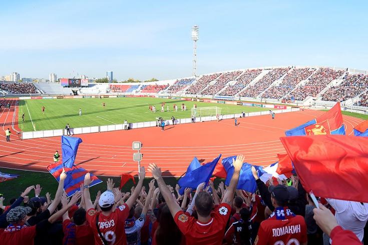 Стадион «Центральный» в Красноярске