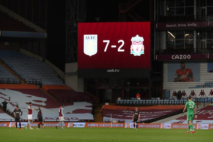 Что «Ливерпуль» потерял в матче с «Астон Виллой» (кроме очков)