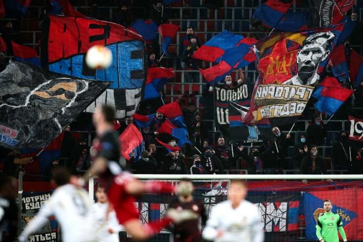 ЦСКА накажут за оскорбления Станислава Черчесова в матче Лиги Европы с «Фейеноордом»