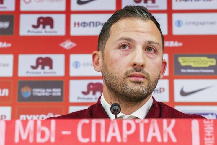 «Спартак» не намерен увольнять Доменико Тедеско
