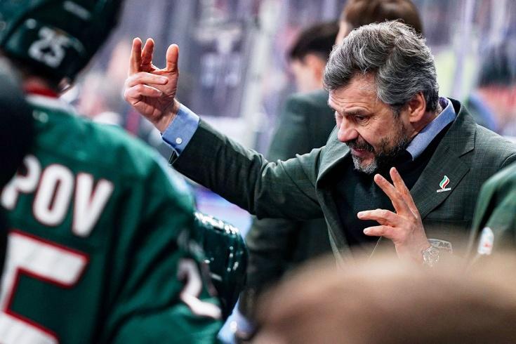Квартальнов — самый невезучий тренер КХЛ. Он проиграл все седьмые матчи серий плей-офф