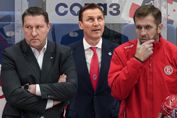 Как дела у тренеров-новичков КХЛ? Фёдоров удивляет, Бабенко выжимает максимум