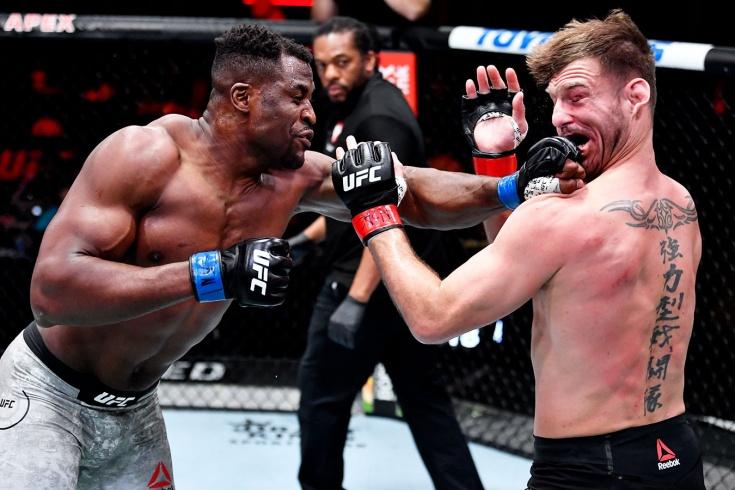 Фрэнсис Нганну стал новым чемпионом UFC в тяжёлом весе, реакция Джона Джонса