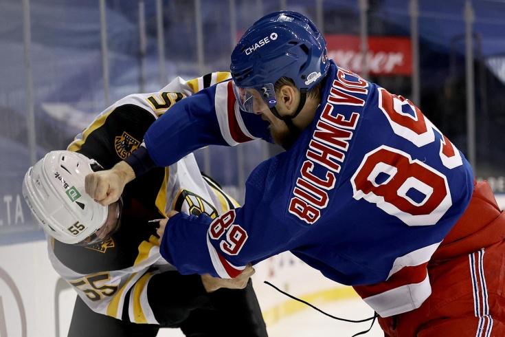 Рейнджерс — Бостон — 0:1 – видео, голы, обзор матча регулярного чемпионата НХЛ 2021
