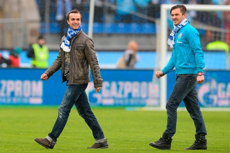 Федор Климов (слева) и Максим Траньков