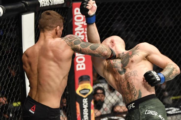 Конор Макгрегор — Дастин Порье 2 — обзор боя UFC 257, победа Порье нокаутом, видео