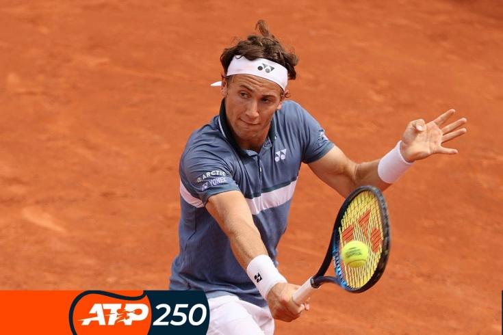 Турнир ATP-250 в Бостаде: Каспер Рууд и Кристьян Гарин – в 1/4 финала, Гаске и Фоньини сошли, видео потрясающих ударов