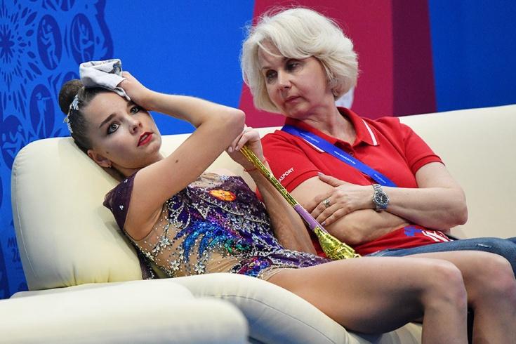 Скандал в художественной гимнастике