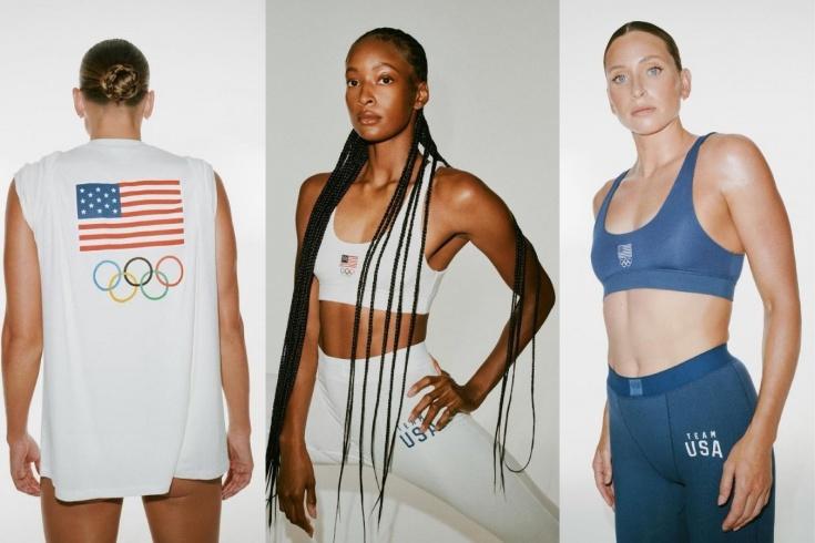 Что вошло в олимпийскую коллекцию бренда Skims? Как выглядит олимпийская форма США