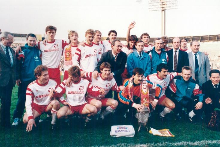 В чём играли в первом чемпионате России. Футбольная мода 1990-х