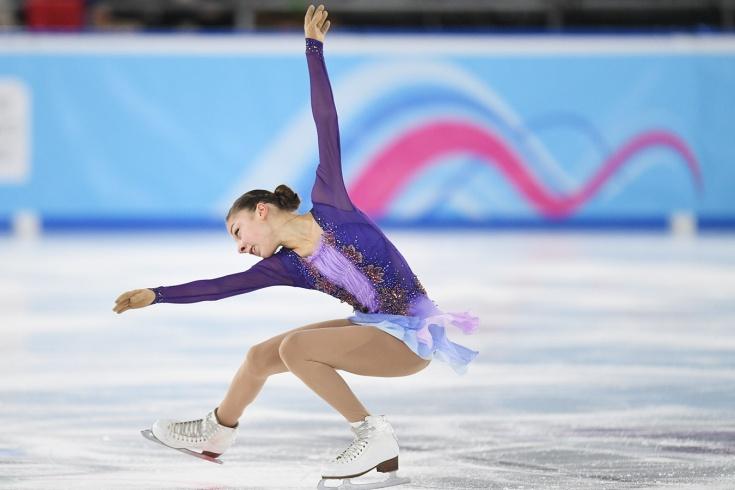 Фигуристки не взяли золото на Юношеских играх