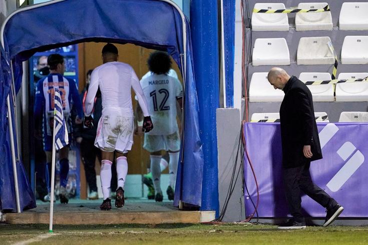 «Реал» проиграл «Алькояно»
