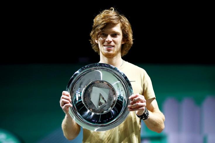 Андрей Рублёв в Роттердаме выиграл 8-й титул, 4-й на ATP-500 и одержал 20-ю победу подряд на турнирах этой категории
