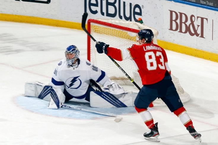 «Флорида» — «Тампа» — 4:0, видео, голы, обзор матча регулярного чемпионата НХЛ, видео ошибки Василевского