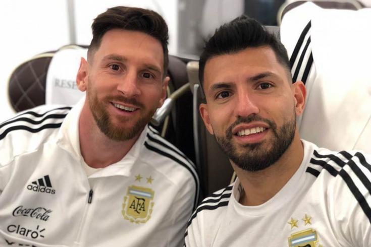 Уход Месси из «Барселоны» – несчастье для Агуэро. У них забавная история дружбы