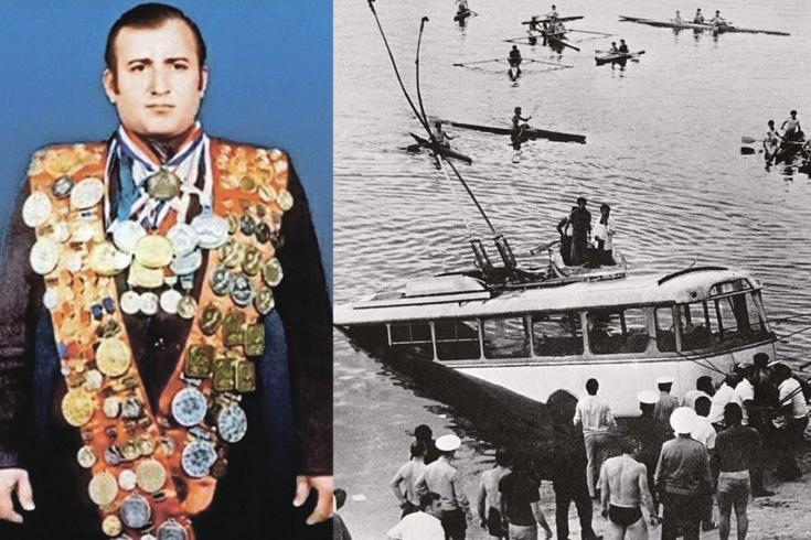 Подвиг советского пловца Шаварша Карапетяна
