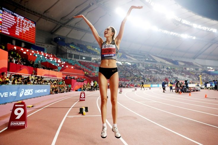Мария Ласицкене показала лучший результат сезона
