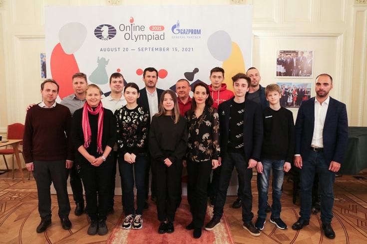 Шахматная онлайн-Олимпиада – 2021