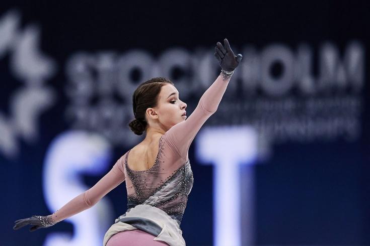 Анна Щербакова, ЧМ-2021