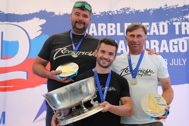 Российский экипаж выиграл регату «Марблхэд Трофи»