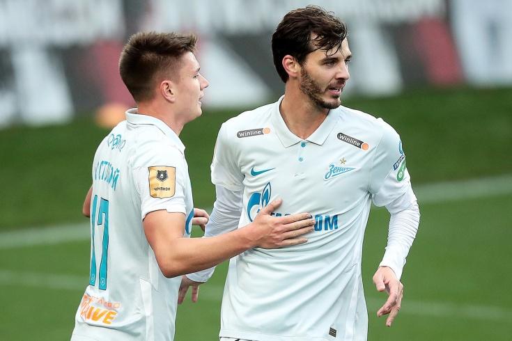 «Зенит» прервал серию поражений, потеряв всю атаку. Дзюбы не было после замены в Дортмунде